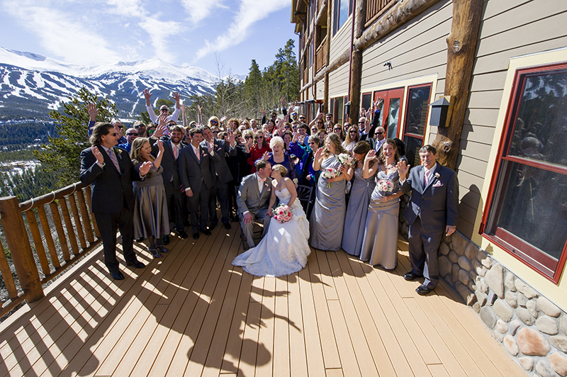 Rhonda and David Wedding at the Lodge at Breckenridge