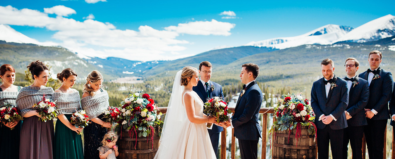 weddings the lodge at breckenridge
