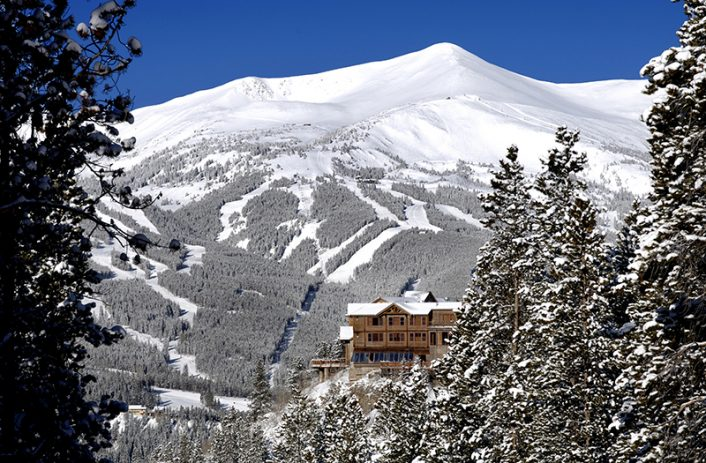 The Lodge at Breckenridge Winter