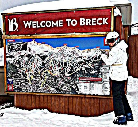 Welcome to Breck Sign