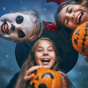 haunted trick or treaters