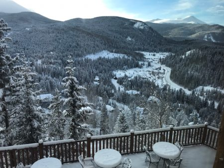 snow in breck