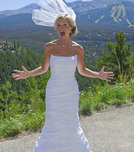 Bride in Breckenridge